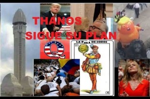 ¡¡¡ THANOS SIGUE SU PLAN !!! Consp 2018 cap 46