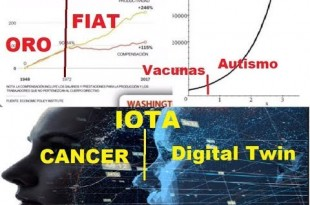 ¡¡¡ ORO vs FIAT, VACUNAS vs AUTISMO, CÁNCER vs DIGITAL TWIN !!!  Consp 2019 cap 15