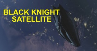 El Caballero Negro (Black Knight satellite)