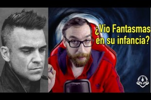 ¿Qué vio Robbie Williams de niño?